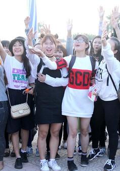 Giới trẻ Thủ đô đổ bộ Lễ hội Văn hóa - Ẩm thực Hàn Quốc dịp cuối tuần