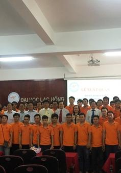 Đoàn Robocon Lạc Hồng xuất quân đại diện Việt Nam thi đấu quốc tế
