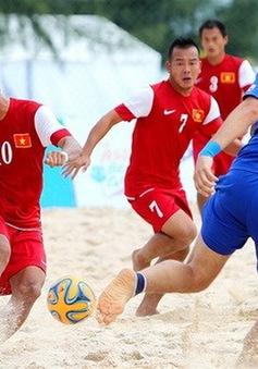 Lịch thi đấu môn bóng đá bãi biển tại Đại hội thể thao bãi biển châu Á 2016