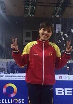 Đường đến Olympic Rio 2016 của VĐV đấu kiếm 32 tuổi Như Hoa