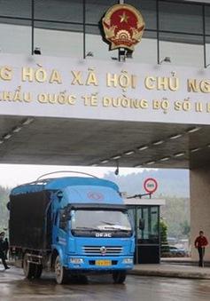 Xuất nhập khẩu qua cửa khẩu Lào Cai đã bình thường