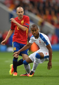 VIDEO EURO 2016, Tây Ban Nha 1-0 CH Czech: Dấu ấn Iniesta!