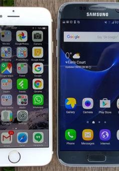 Doanh số bán Galaxy S7 vượt mặt iPhone 6S tại Mỹ