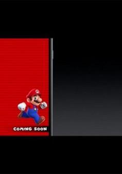 Tựa game cổ điển Super Mario lần đầu xuất hiện trên iPhone