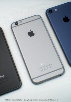 """Thêm ảnh concept """"nét căng"""" của iPhone 7 phiên bản Space Black"""