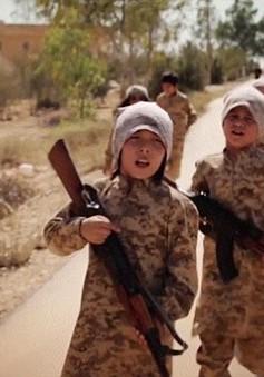 IS gia tăng tuyển mộ lính trẻ em