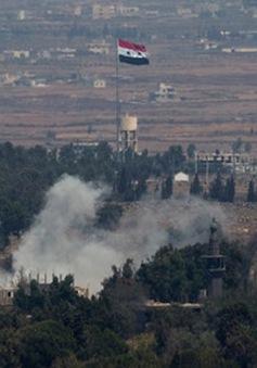 Israel không kích các vị trí Syria ở Cao nguyên Golan