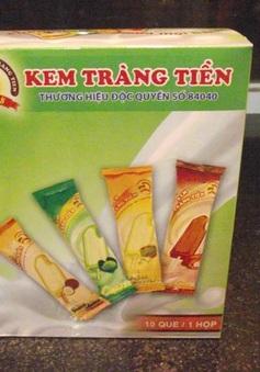 Phát hiện lô kem Tràng Tiền giả trên đường ra thị trường tiêu thụ