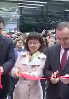 Khai trương gian triển lãm thương mại Việt Nam tại Moskva