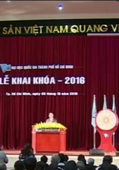 Chủ tịch nước dự Lễ Khai khóa tại Đại học Quốc gia TP.HCM