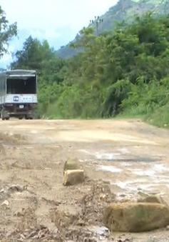 Tỉnh lộ 3 ở Khánh Hòa xuống cấp nghiêm trọng