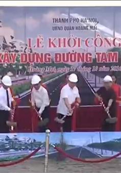 Hà Nội: Chính thức khởi công xây dựng đường Tam Trinh