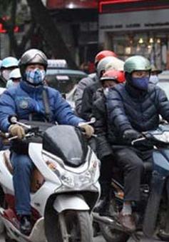 Không khí lạnh tăng cường tới Bắc Bộ và Trung Bộ