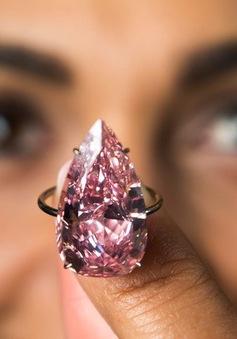 Sotheby's bán viên kim cương hồng đặc biệt với giá hơn 31 triệu USD