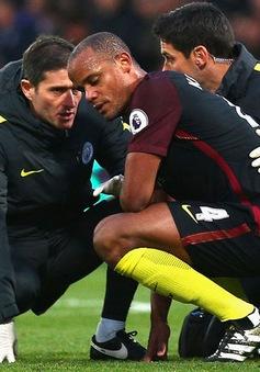 Kompany nghỉ 6 tuần, Man City khủng hoảng trung vệ trầm trọng
