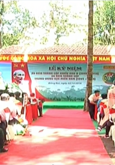 Đồng Nai tổ chức kỷ niệm 70 năm thành lập Chiến khu Đ