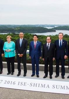 G7 chưa có kế hoạch bãi bỏ cấm vận Nga