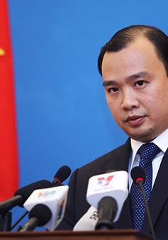 Việt Nam phản đối Trung Quốc tập trận ở Hoàng Sa