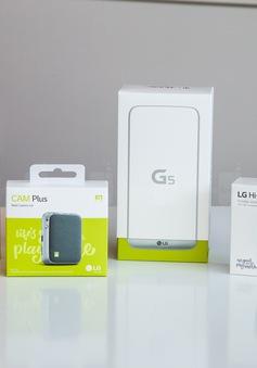 Trên tay siêu phẩm LG G5 và dàn phụ kiện ấn tượng