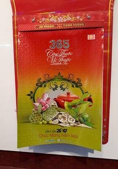Bộ lịch 365 vị thuốc giành giải Nhất mẫu lịch Xuân Đinh Dậu