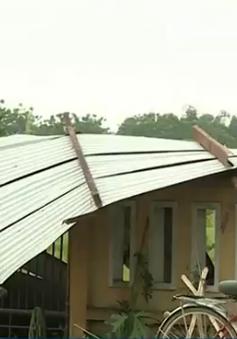 Bình Ðịnh: Khẩn trương khắc phục hậu quả lốc xoáy
