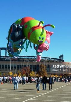Bóng bay khổng lồ trước thềm Lễ Tạ ơn tại New York