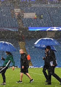 Bất ngờ hoãn trận Champions League của Man City