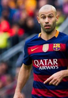 """Barcelona thông báo gia hạn với Mascherano theo cách """"khó đỡ"""""""
