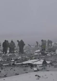 Phi công tranh cãi, giành lái trước khi máy bay FlyDubai rơi