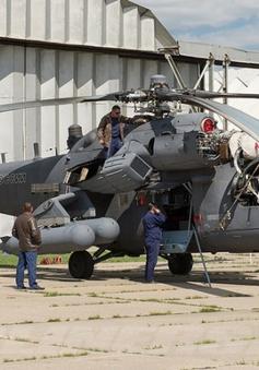 Nga tiếp tục rút trực thăng quân sự khỏi Syria