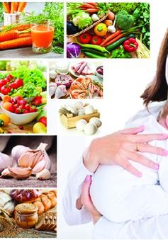 Thực phẩm nên và không nên ăn khi cho con bú