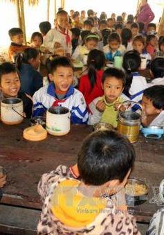 Nghệ An: Xã hội hóa bữa ăn bán trú cho học sinh miền núi