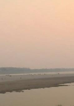 Mực nước sông Mekong tại Lào và Thái Lan tăng dần