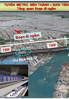 TP.HCM động thổ thi công nhà ga ngầm Bến Thành - Nhà hát thành phố