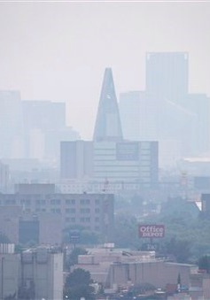 Mexico báo động ô nhiễm lần thứ 3 trong tháng 5/2016