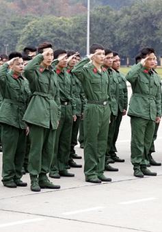 2.000 thanh niên Thủ đô viết đơn tình nguyện nhập ngũ