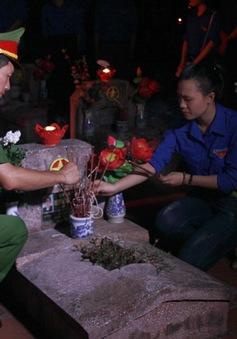 Hàng ngàn ngọn nến thắp sáng tri ân các anh hùng liệt sĩ