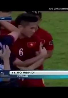 VIDEO Siêu phẩm của Minh Dĩ giúp U19 Việt Nam dẫn trước UAE