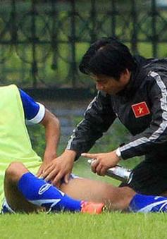 Minh Tuấn chia tay đội tuyển Việt Nam vì chấn thương