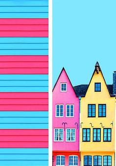 Rực rỡ những căn nhà mang màu sắc hoạt hình