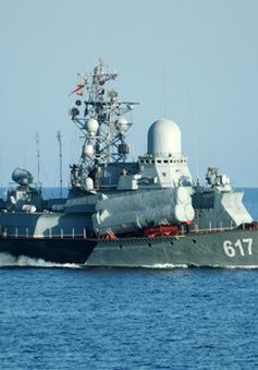 Nga điều thêm tàu chiến đến Địa Trung Hải