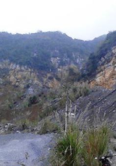 Sập mỏ đá ở Thanh Hóa, 4 người thiệt mạng
