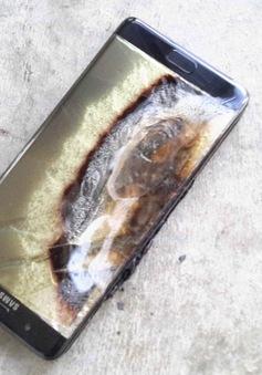 Galaxy Note7 bất ngờ phát nổ trên tay cậu bé 6 tuổi
