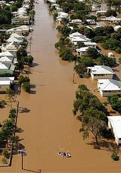 Mưa lụt tấn công nước Mỹ