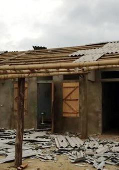 Yên Bái: 329 ngôi nhà bị sập và tốc mái do mưa lốc