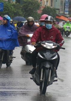 Hà Nội có mưa rào, trong cơn dông có khả năng gió giật mạnh