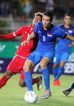 VIDEO: Xem lại bàn thắng trận đấu ĐT Myanmar 0 - 1 ĐT Singapore