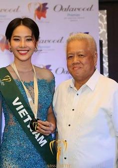 Nam Em tiếp tục rinh giải tại Hoa hậu Trái đất 2016