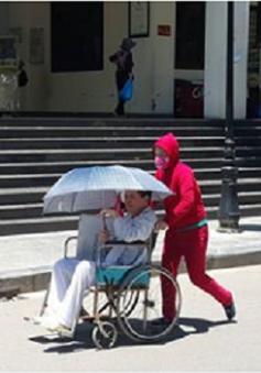 Hà Nội: Bệnh viện Xanh Pôn tăng cường công tác chống nóng tại bệnh viện