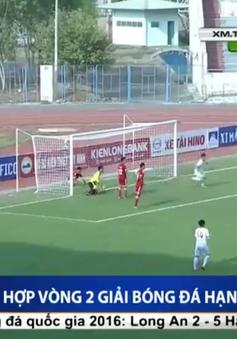 Vòng 2 giải bóng đá hạng nhất 2016: Viettel cầm hòa trên sân khách